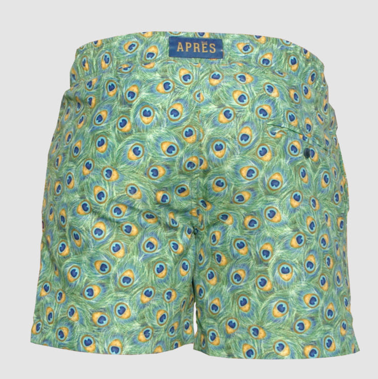 APRES Swim Shorts - Peacocking swimwear