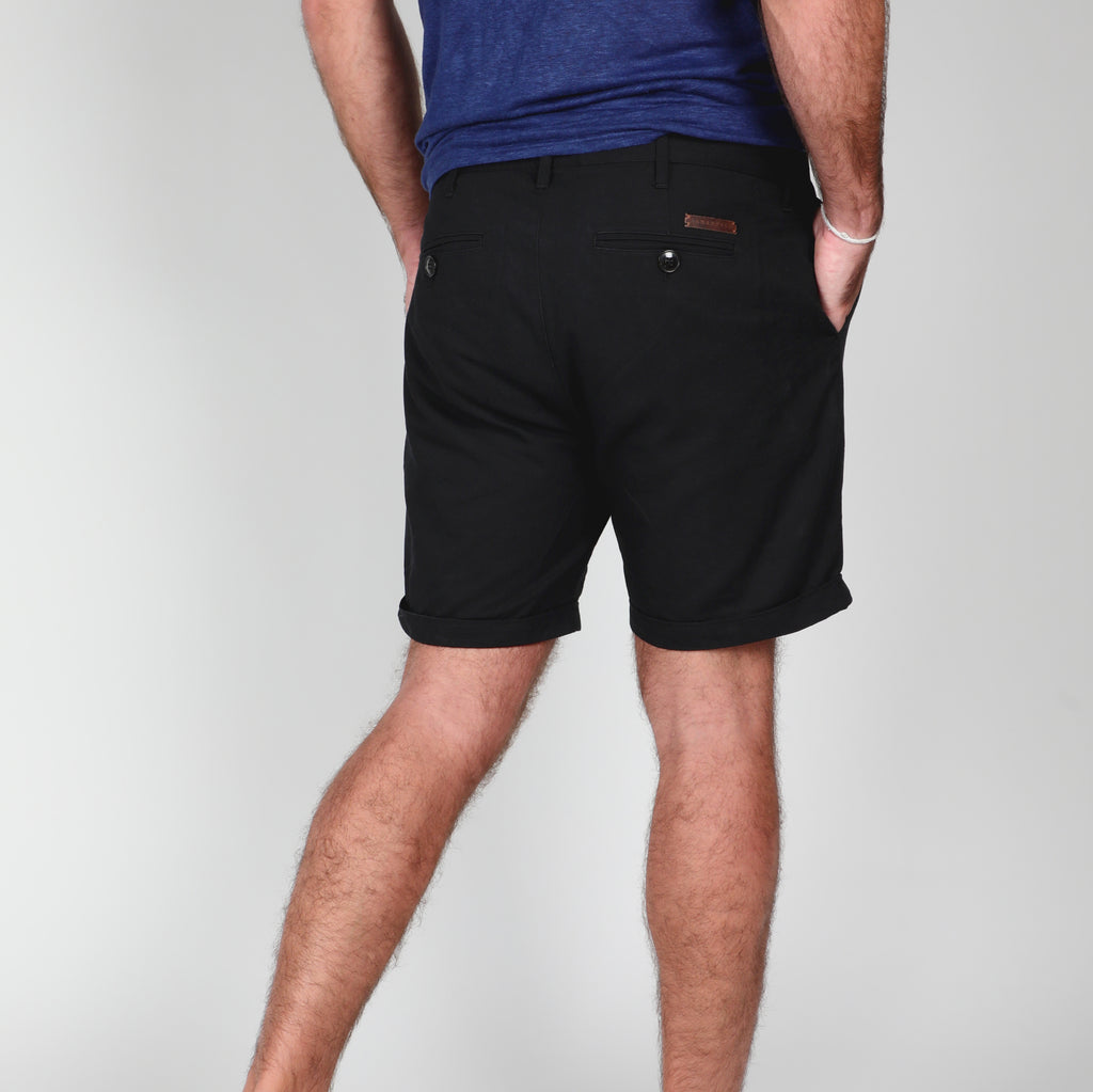 ASHENFELD - Short J.Y.C. (Black)