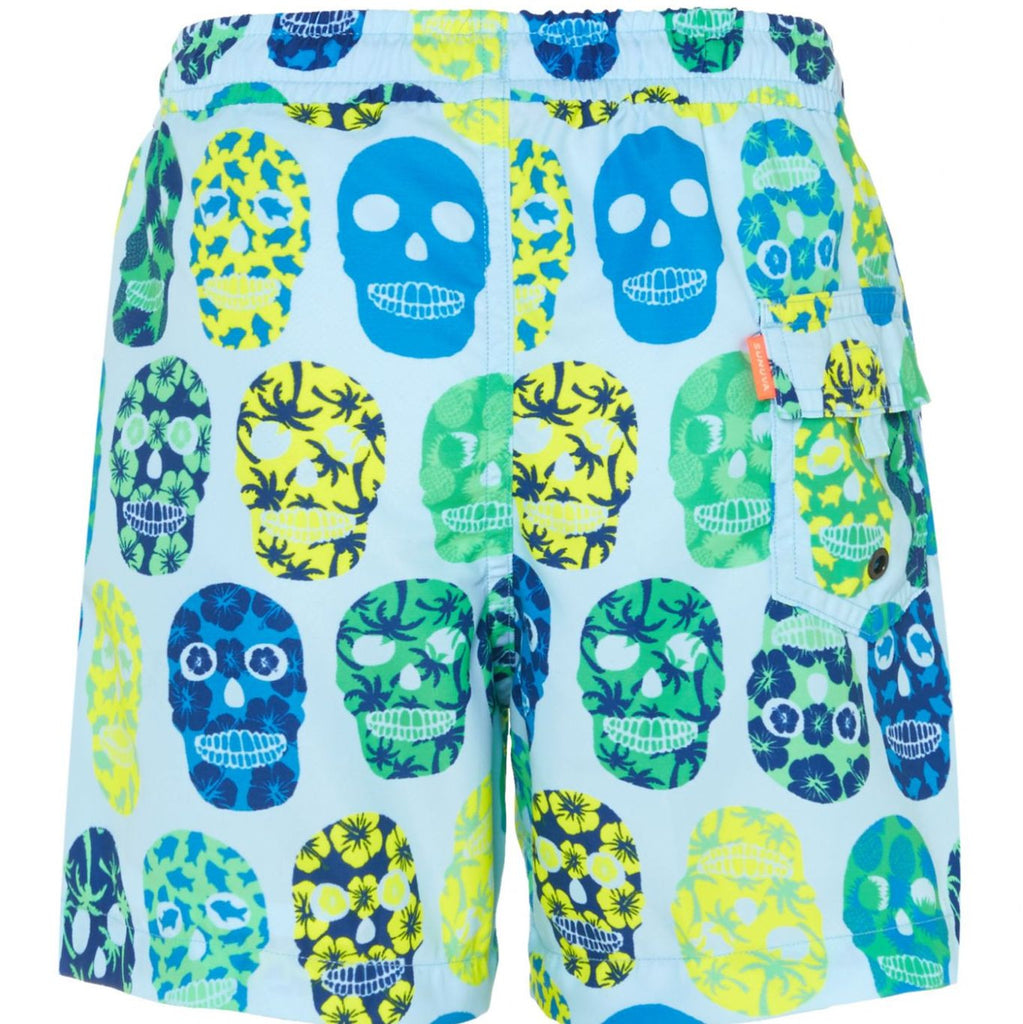 SUNUVA Boys Skull Swim Shorts
