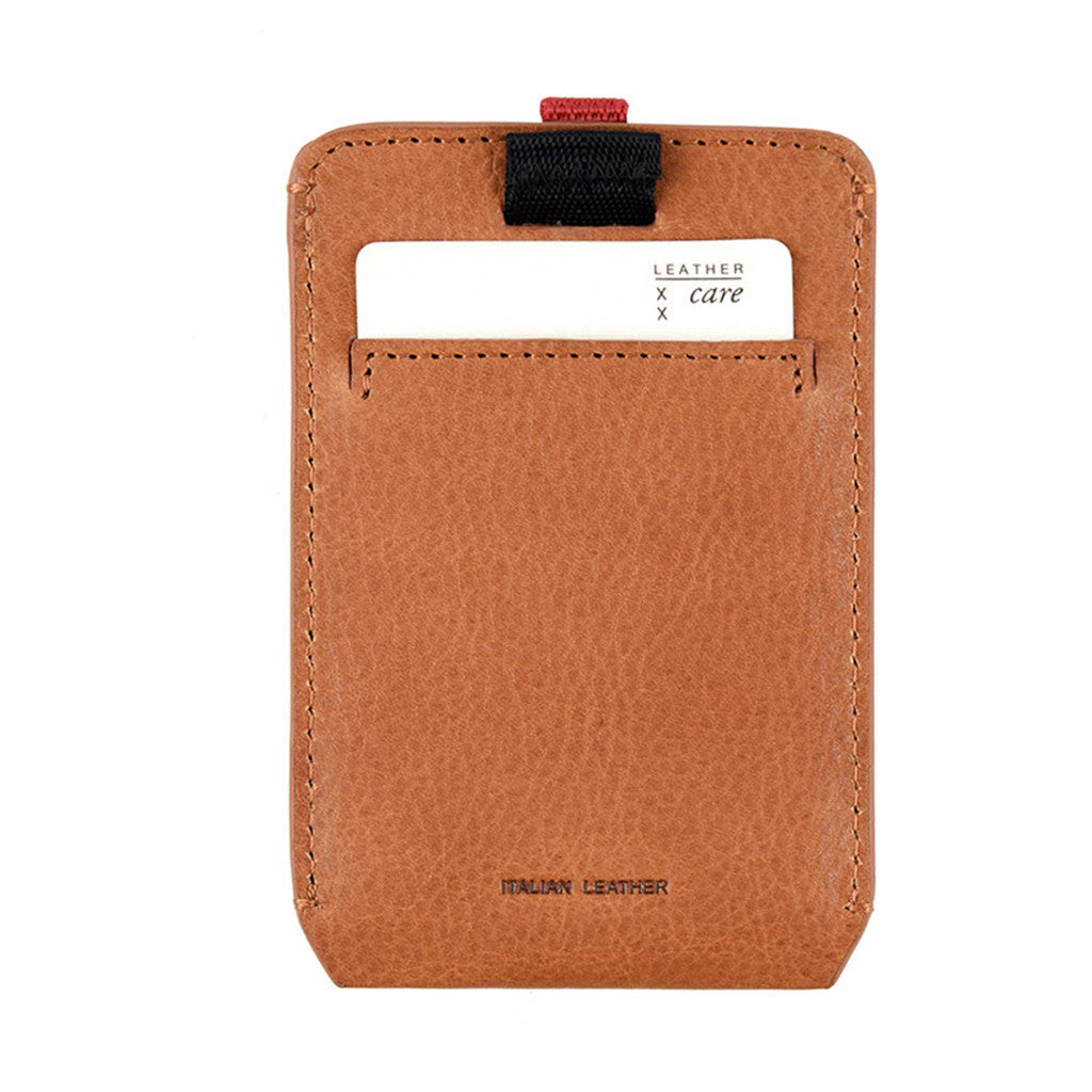 STATUS ANXIETY Franklin Wallet (Tan)