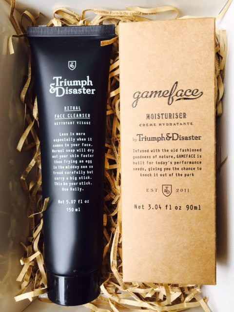 Gift Box: Triumph & Disaster Cleanser & Moisturiser