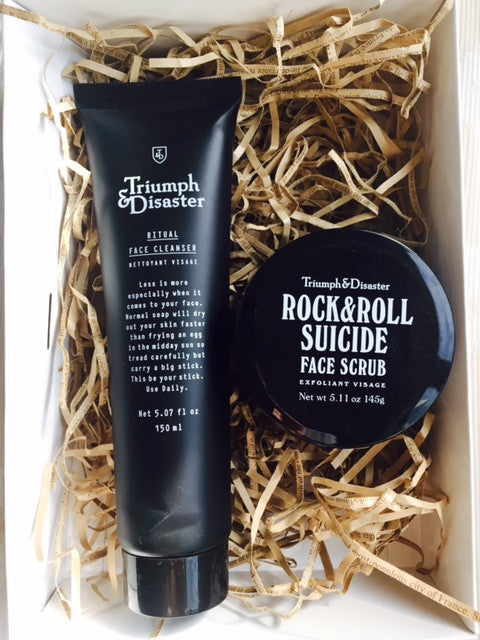 GIFT BOX 5: TRIUMPH & DISASTER Face Scrub & Face Cleanser
