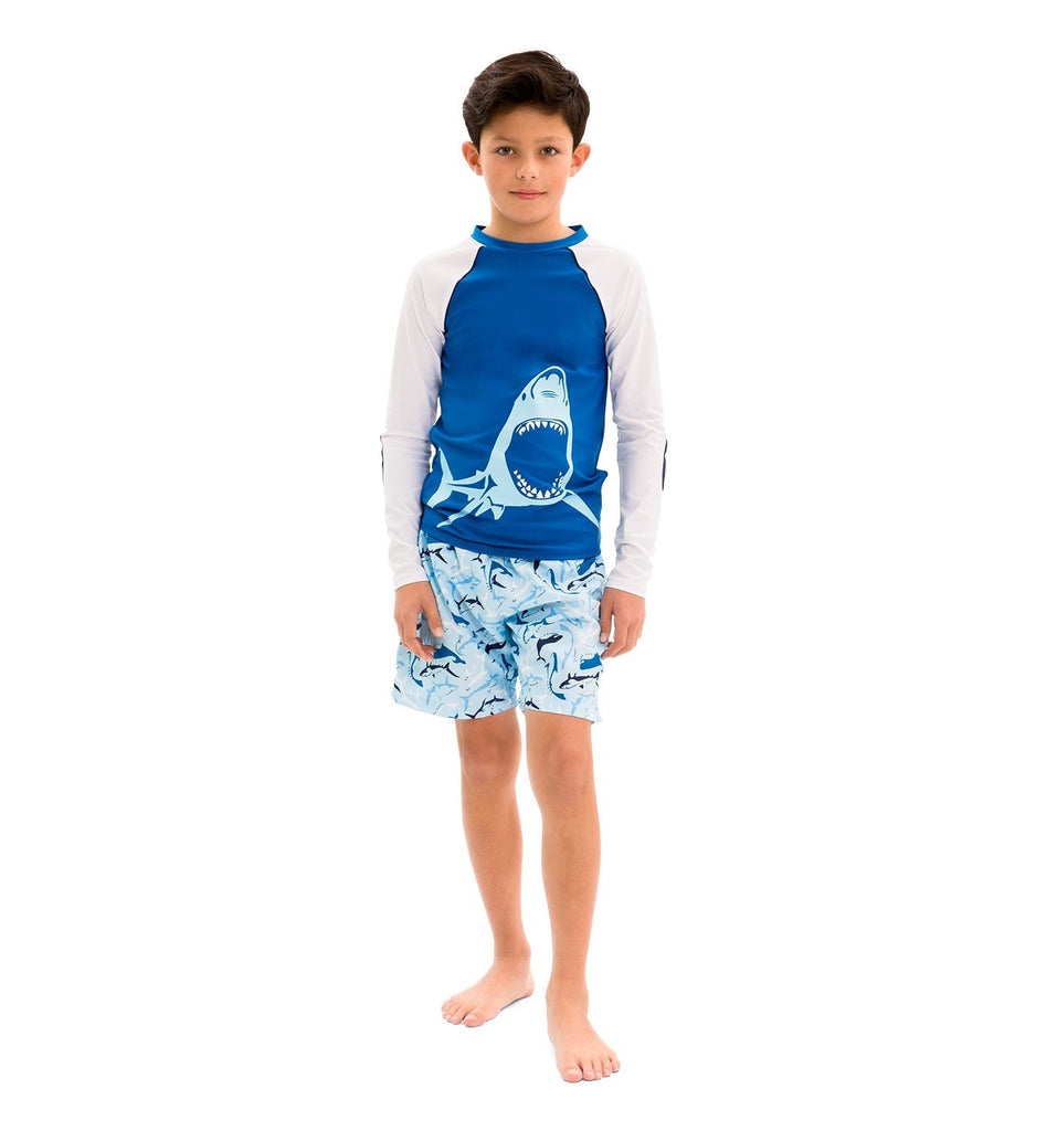 SUNUVA Boys Pineapple Swimshorts