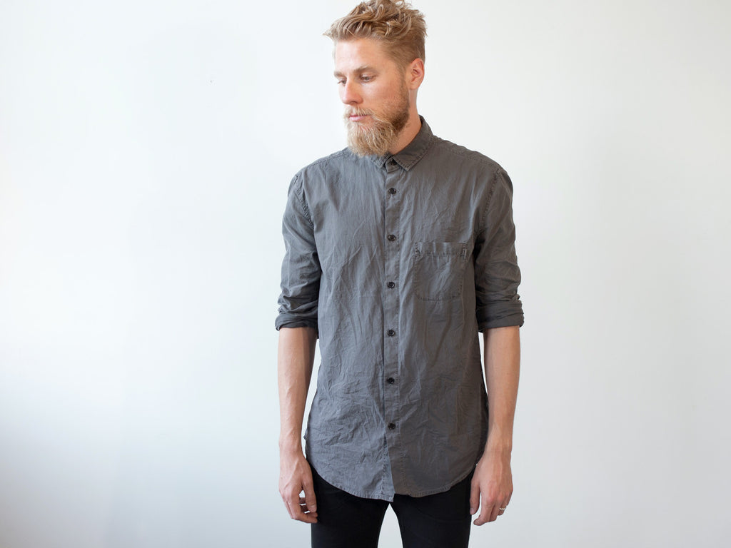 FLUX Inbetween Days Long-Sleeve Shirt (Grey)