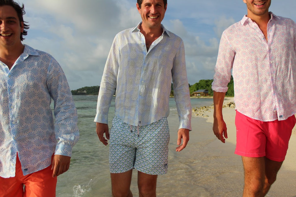 Pink House Mustique Linen Shirts