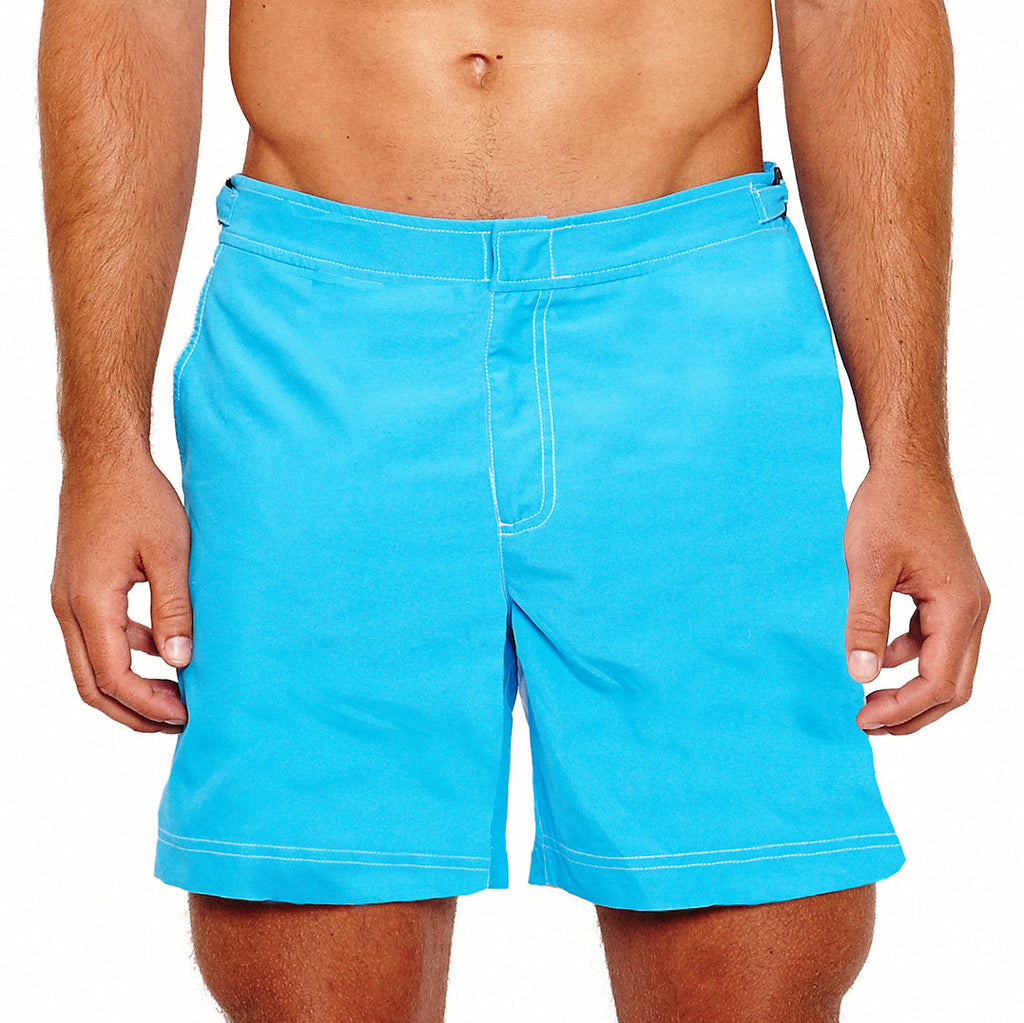 PINK HOUSE MUSTIQUE Beach Shorts - (Turquoise)