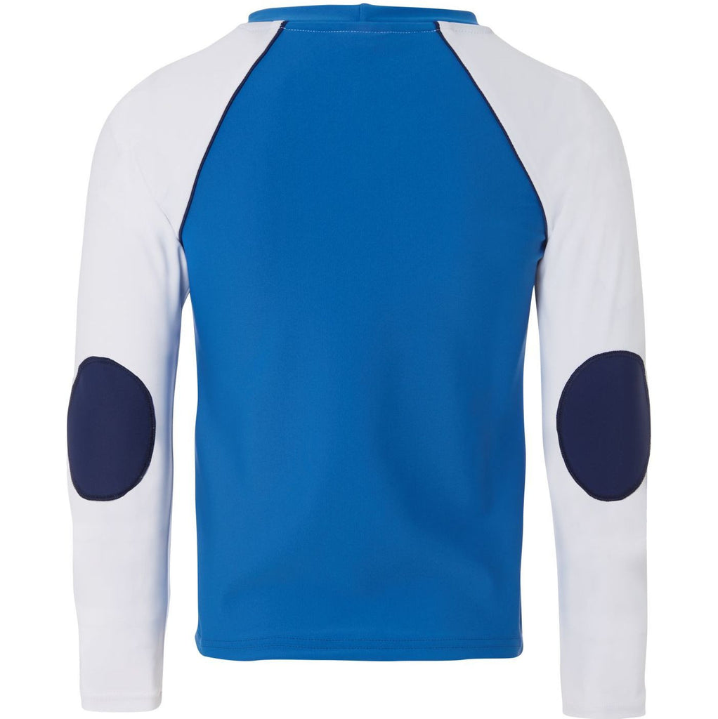 SUNUVA Boys Aqua Shark Rash Vest