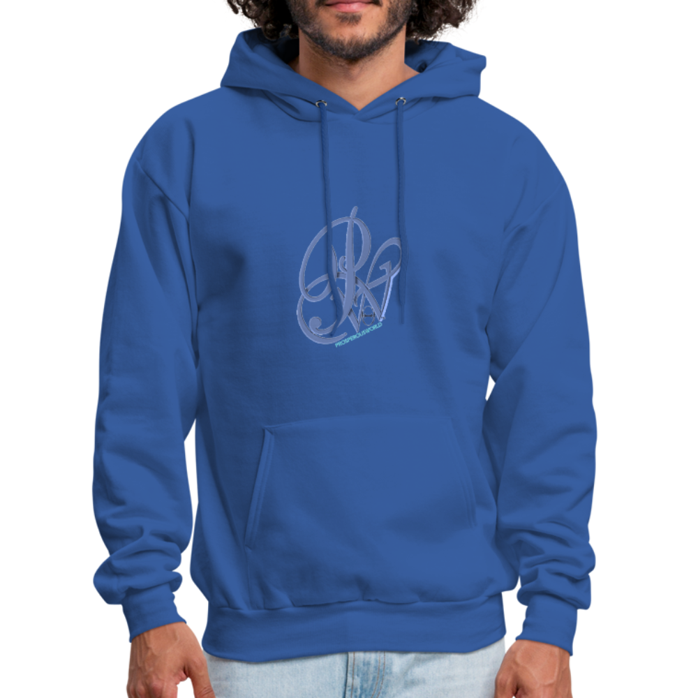 Prosperous Life Men's Hoodie - royal blue
