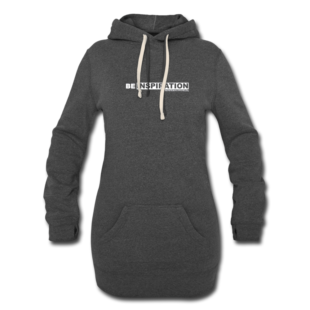 Be Inspiration Women's Hoodie Dress - heather black