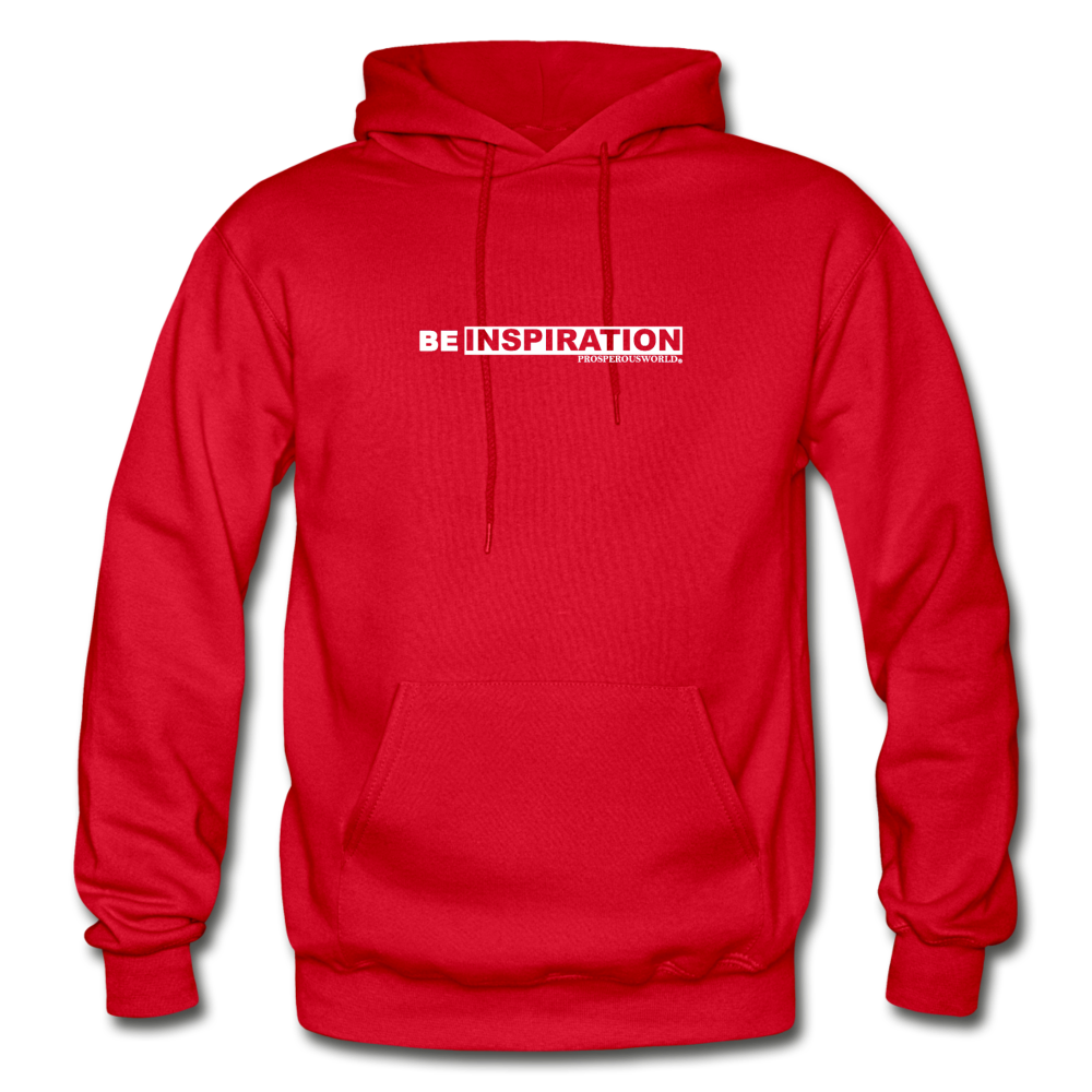 Be inspiration Hoodie - red