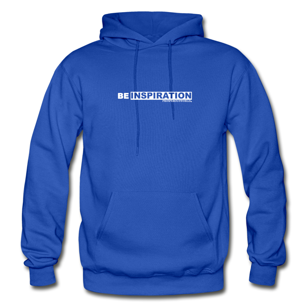 Be inspiration Hoodie - royal blue