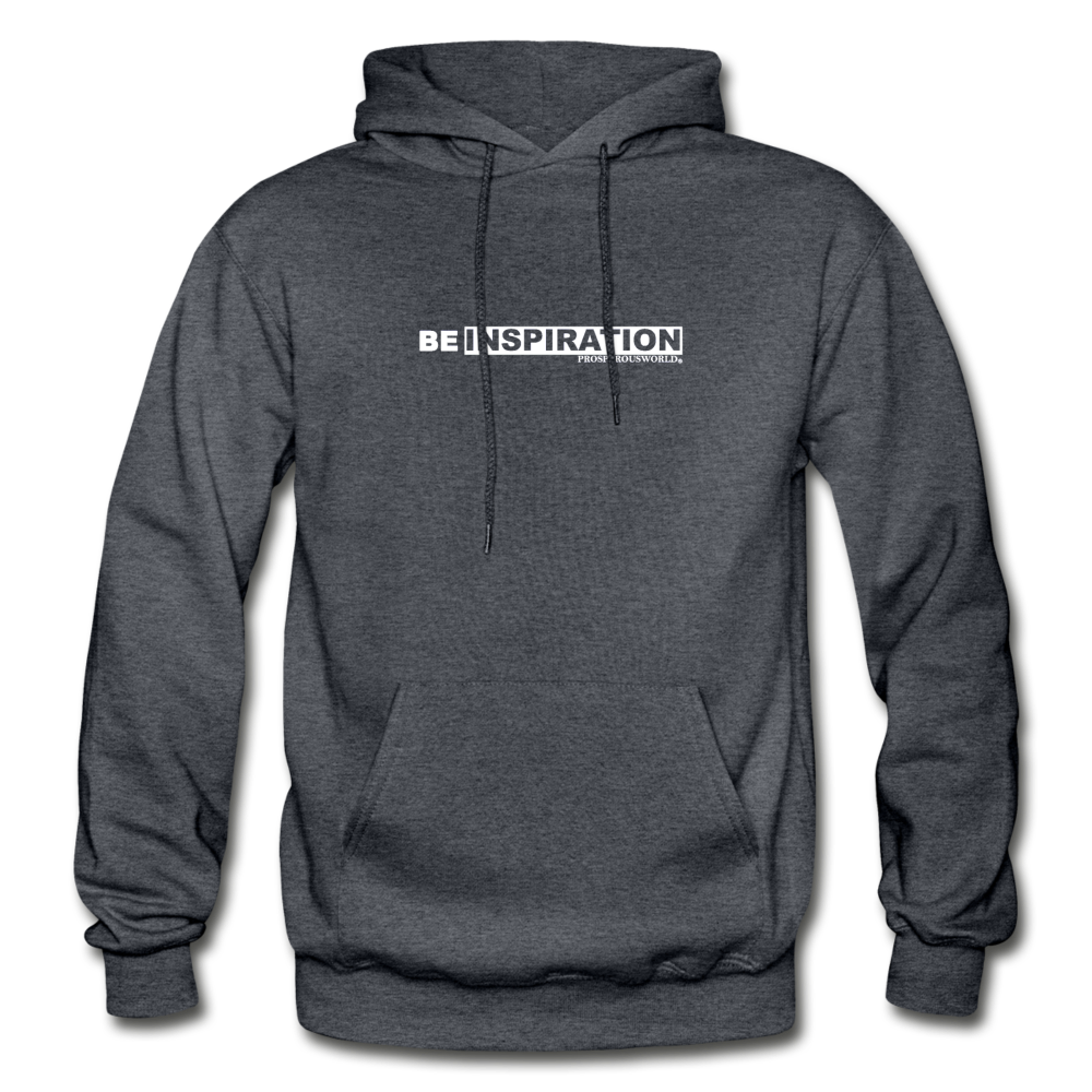 Be inspiration Hoodie - charcoal gray