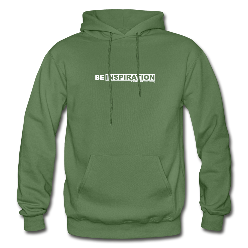 Be inspiration Hoodie - military green
