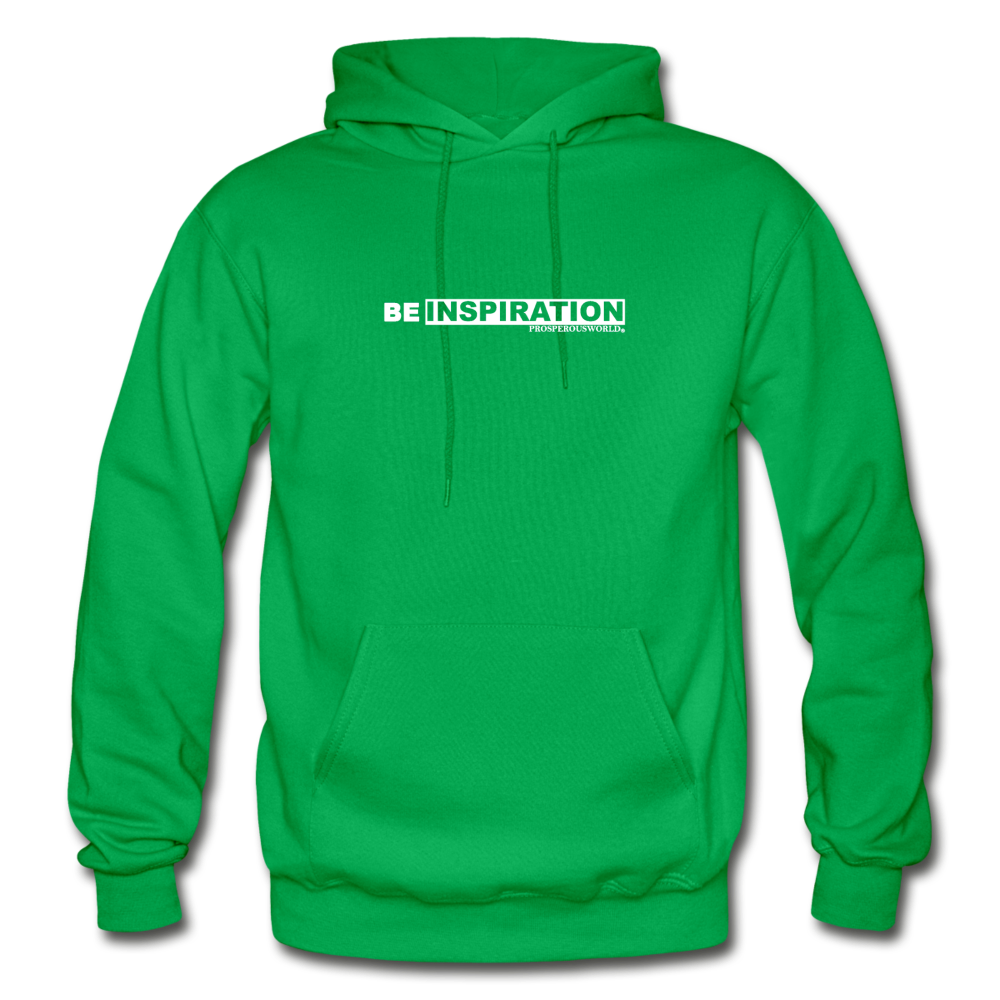 Be inspiration Hoodie - kelly green