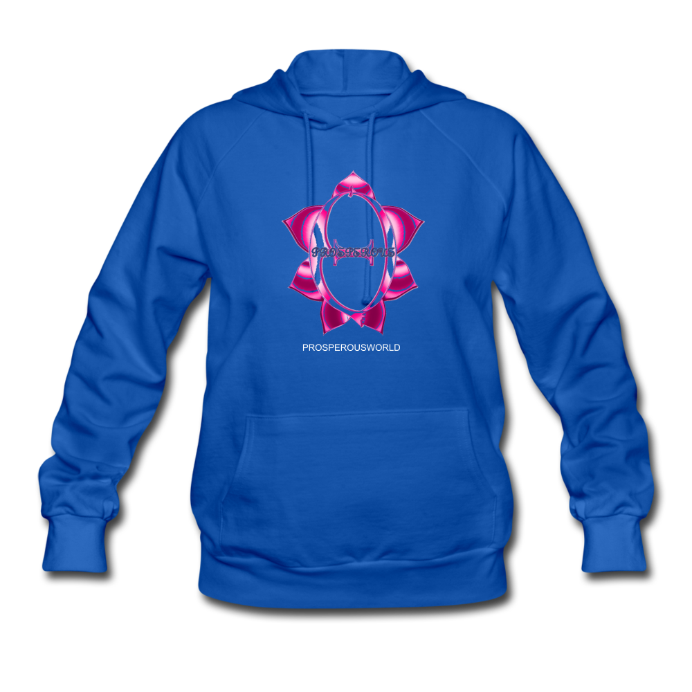 ProsperousWorld Women's Hoodie - royal blue