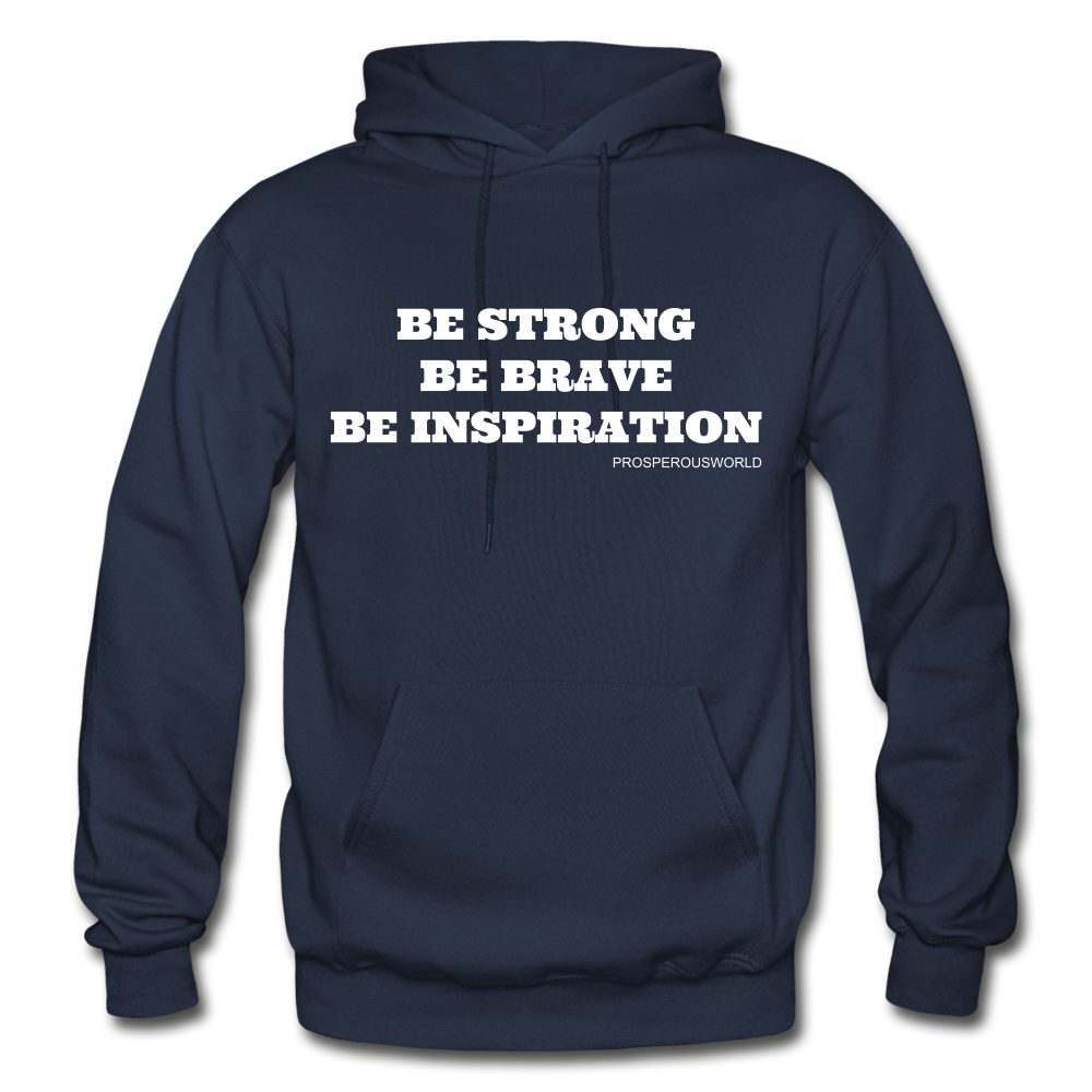 Be Inspiraton unsex Hoodie - navy