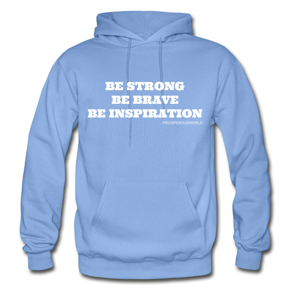 Be Inspiraton unsex Hoodie - carolina blue