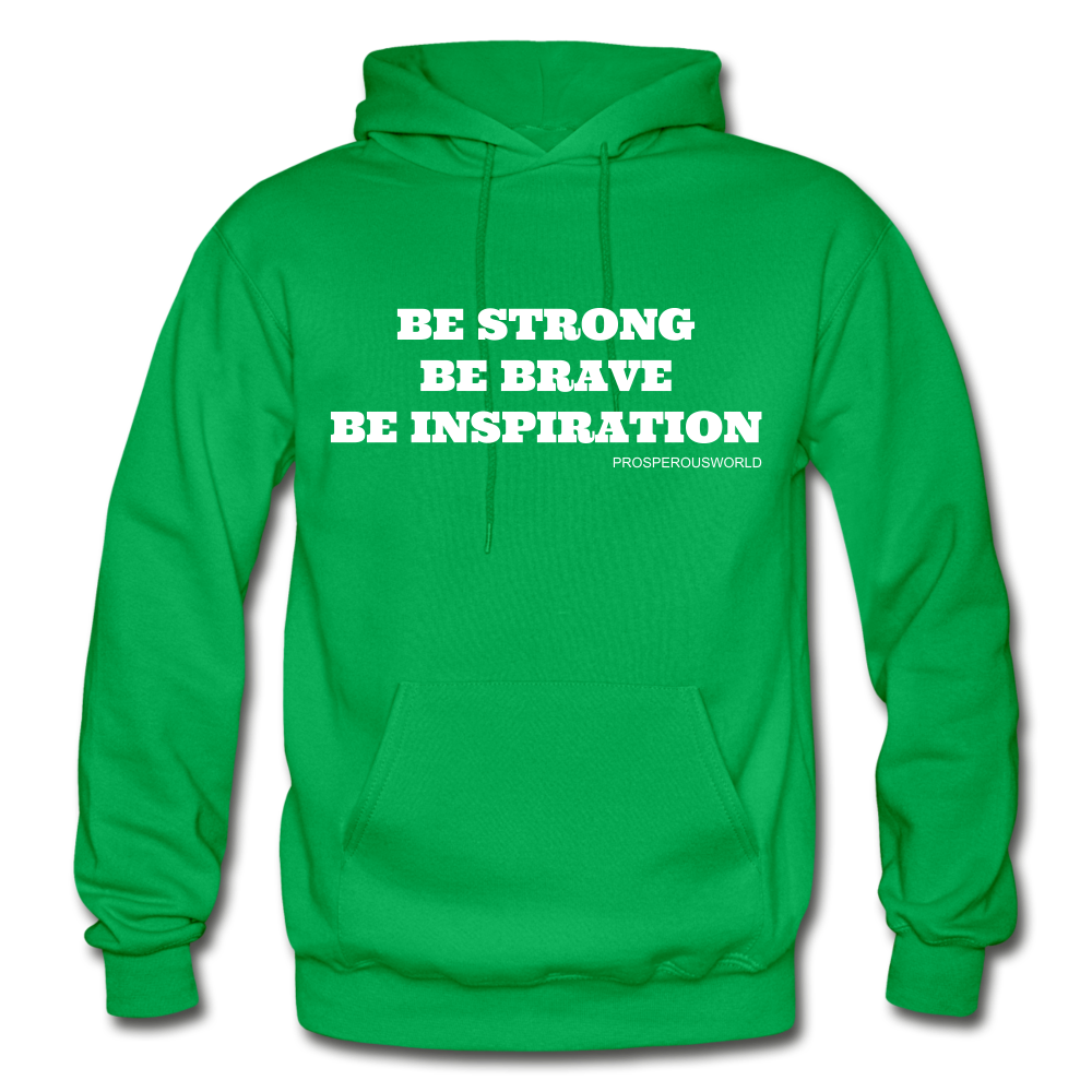 Be Inspiraton unsex Hoodie - kelly green