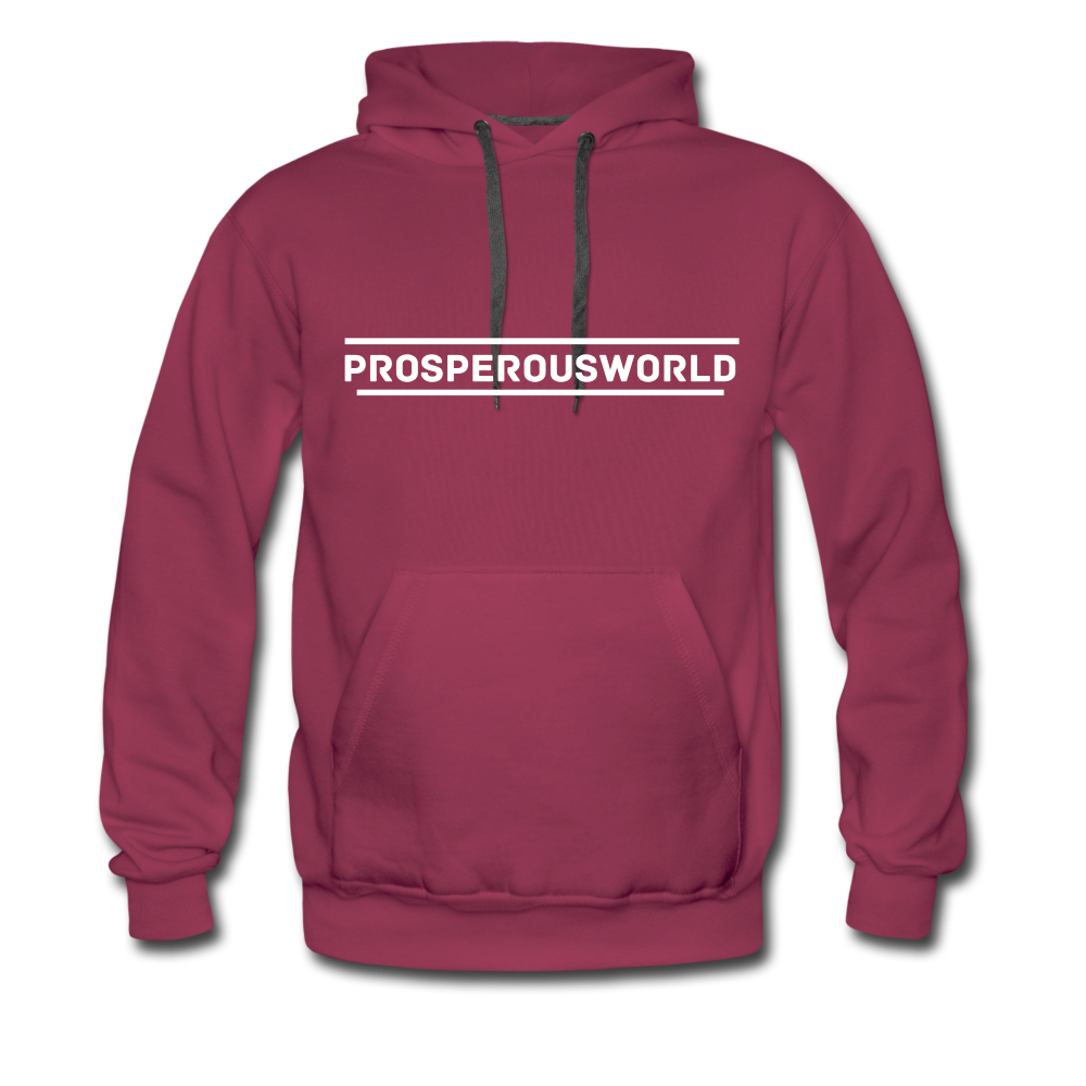 ProsperousWorld Men's Premium Hoodie - burgundy