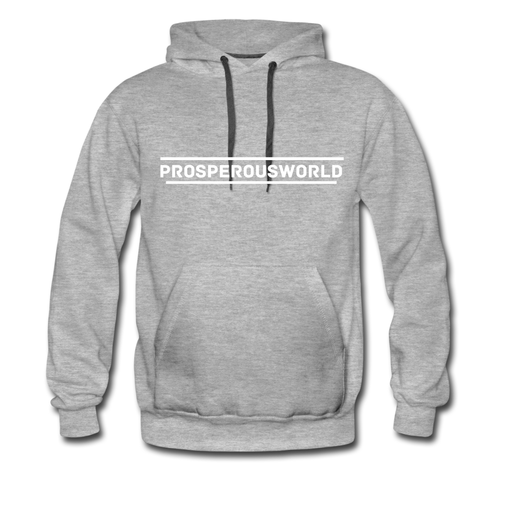 ProsperousWorld Men's Premium Hoodie - heather gray