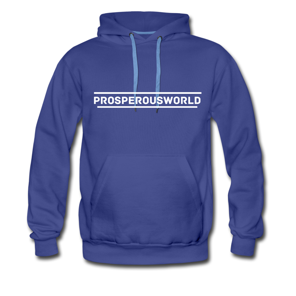 ProsperousWorld Men's Premium Hoodie - royalblue