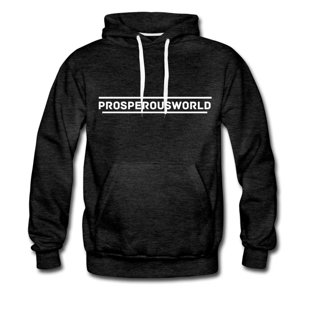 ProsperousWorld Men's Premium Hoodie - charcoal gray