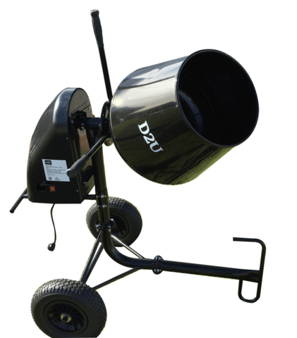 60 Litre Cement Mixer Back in Stock!