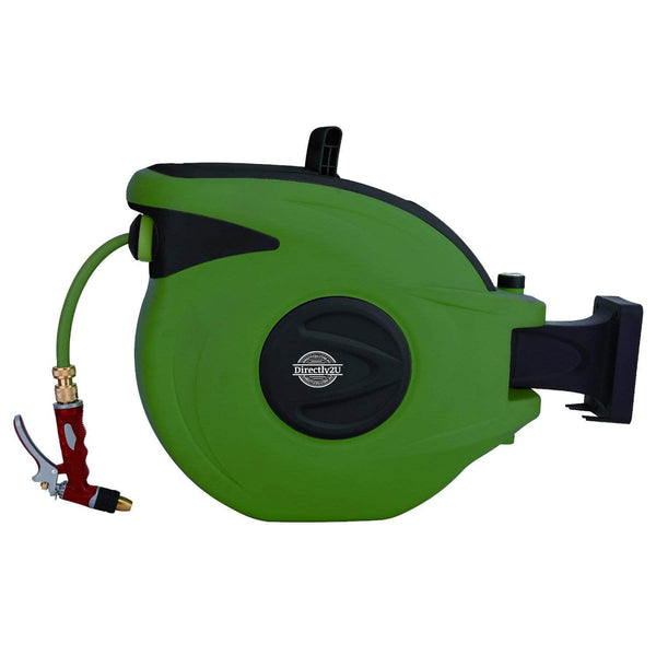 Take the stress out of yard work with our auto-rewind Hose Reel!
