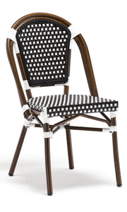 Black Paris Cafe Bistro Dining Chair