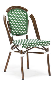 Green Paris Cafe Bistro Dining Chair