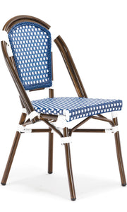 Blue Paris Cafe Bistro Dining Chair