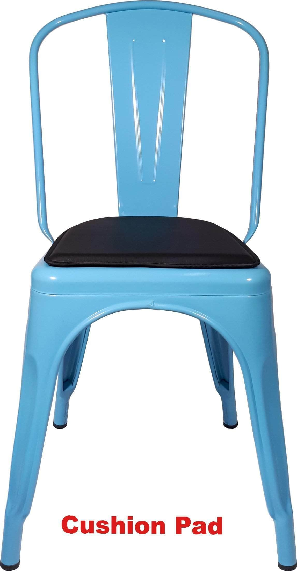 light blue replica tolix cafe chair high back buy online