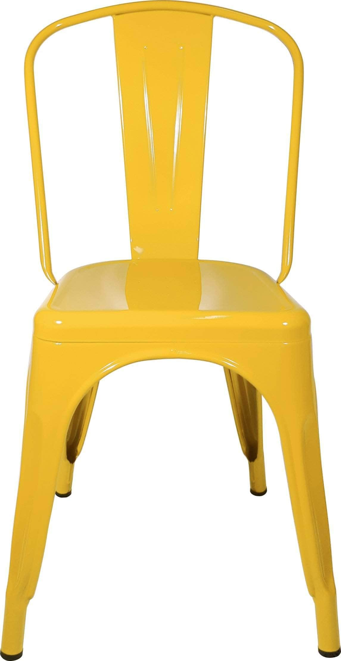 Yellow Replica Tolix Cafe Chair High Back Buy line Perth