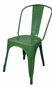 Tolix Replica Cafe Chair Green