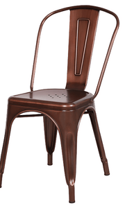 Tolix Replica Cafe Chair Bronze