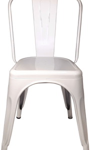 Tolix Replica Cafe Chair White