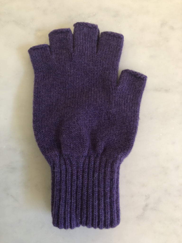 Fingerless Womens Cashmere Gloves