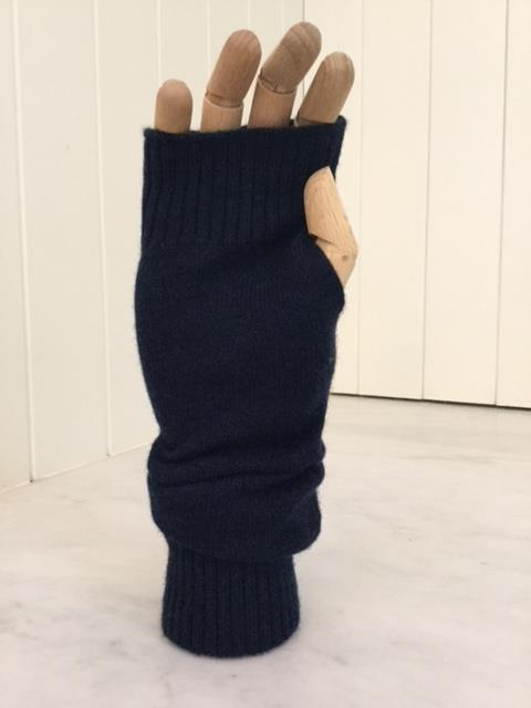 Fingerless Cashmere Gloves - Long