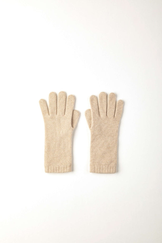 Womens Short Cuff Cashmere Gloves