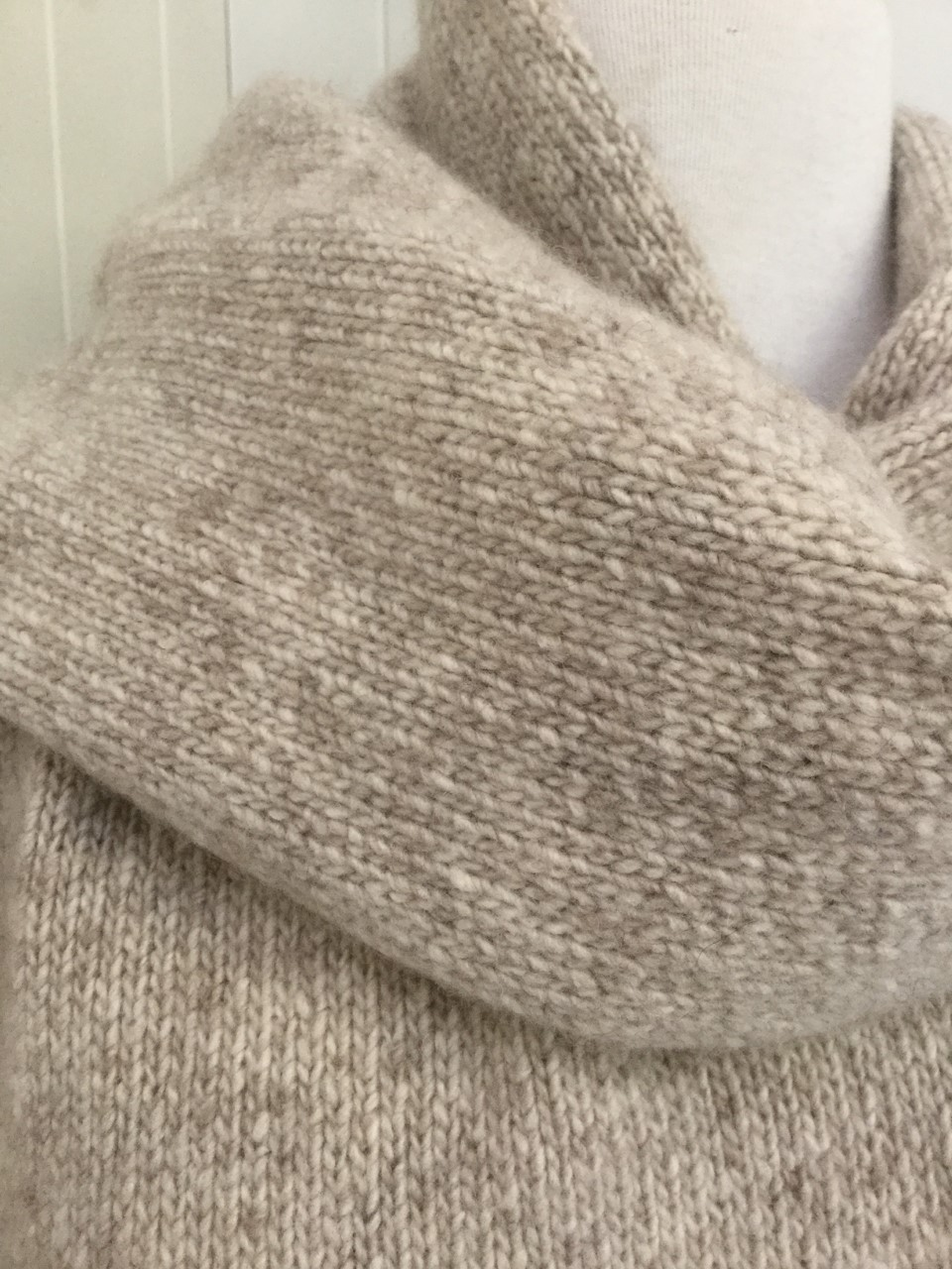 6-ply Scarf | Donegal Natural