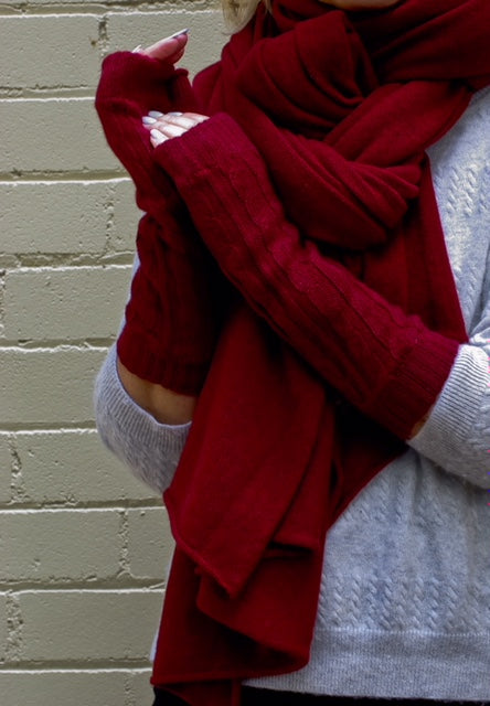 SCA Travelwrap - Russet Red