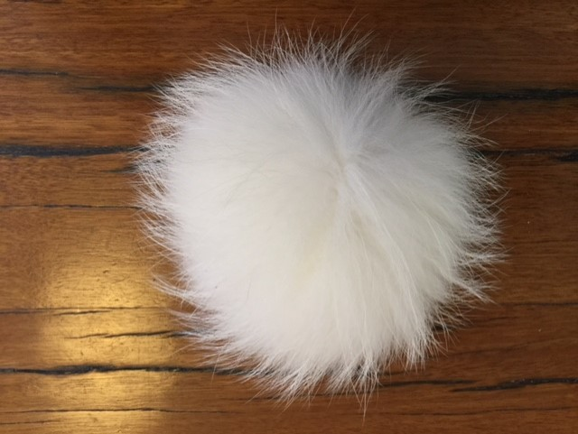 German Fox Fur Pom Poms