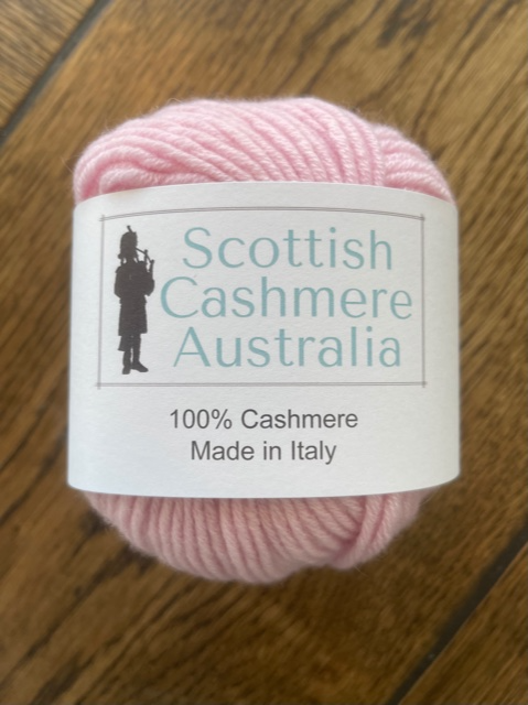 Cashmere scarf knitting & crocheting kits