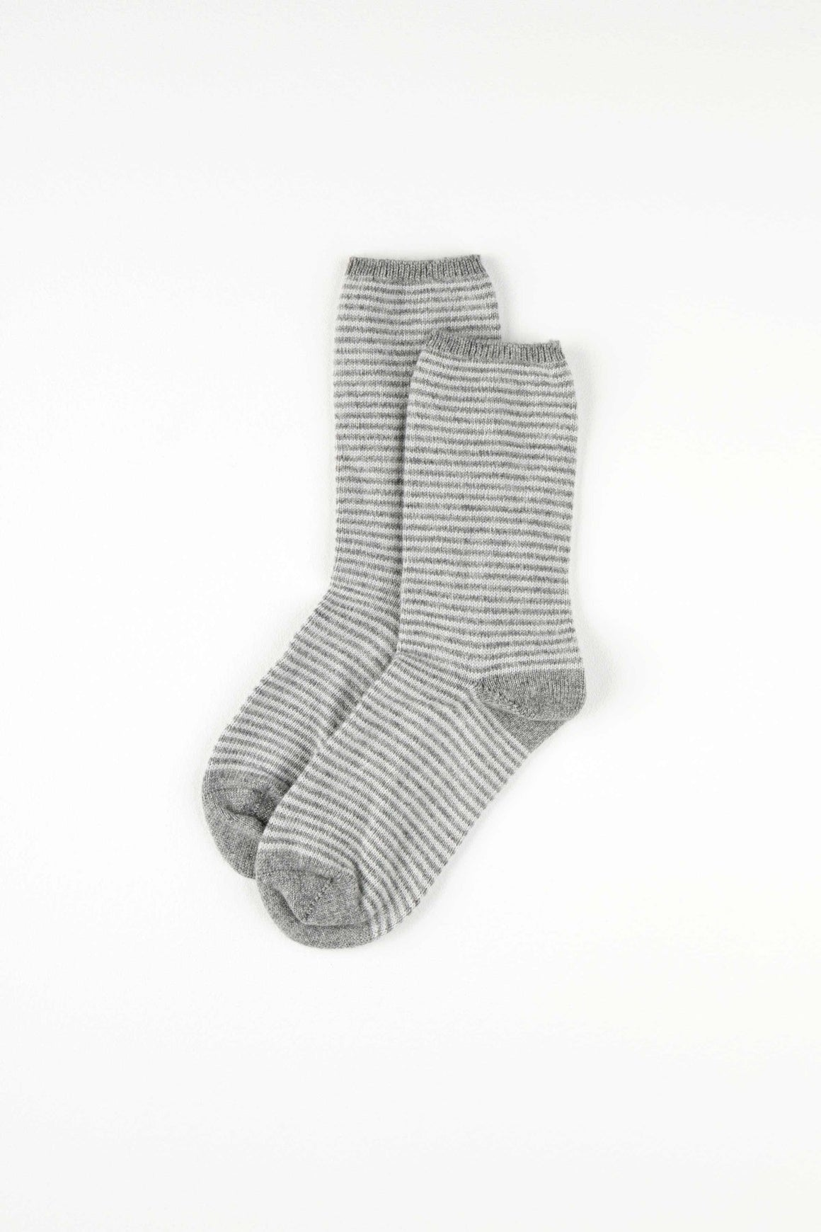 Cashmere Striped Womens Socks
