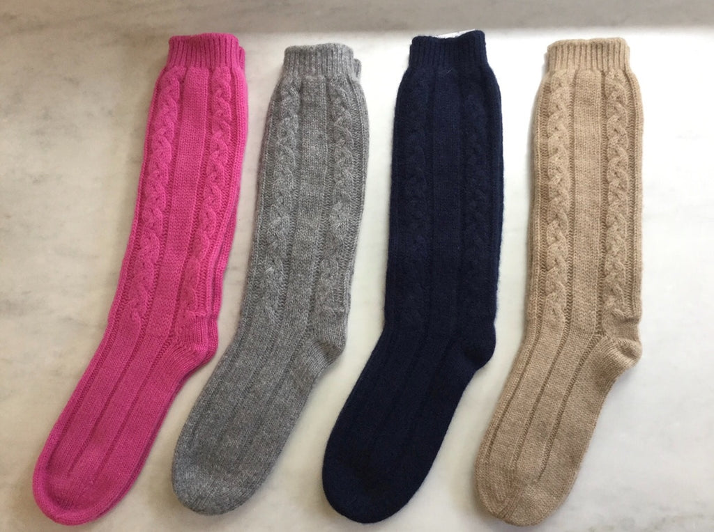 SCA 6-Ply Cashmere Lounge Socks