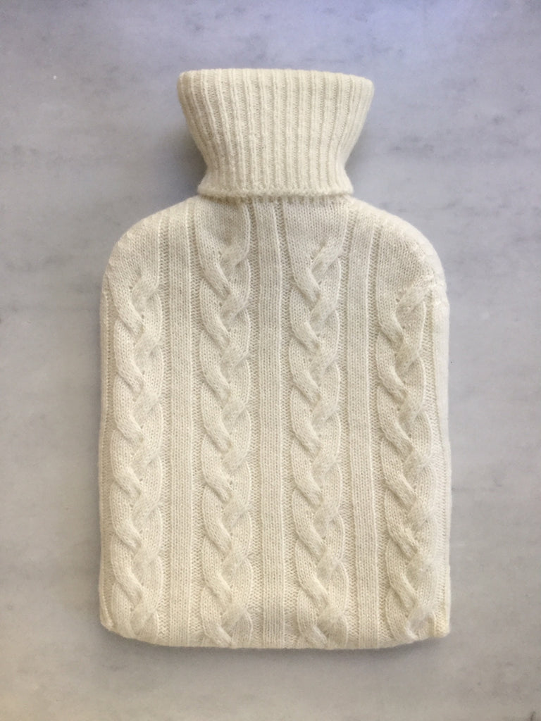 Cashmere Hot Water Bottle Covers