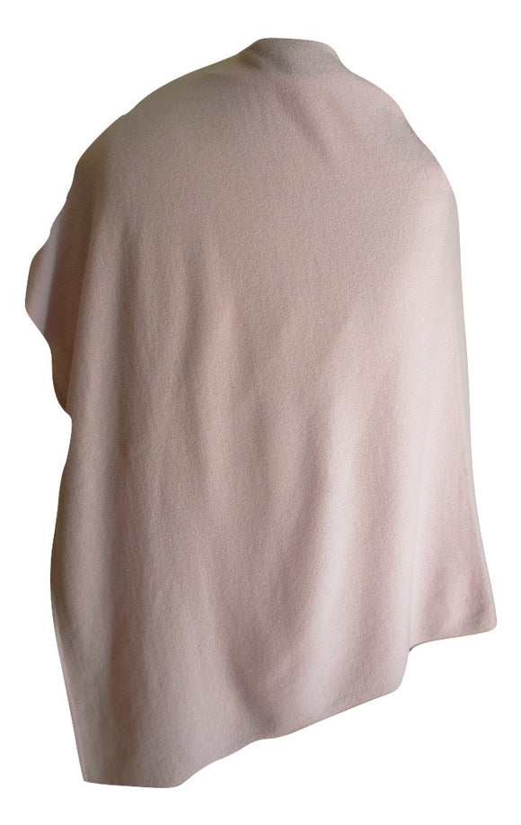 SCA 2-Ply Poncho - Wild Rose / Baby Pink