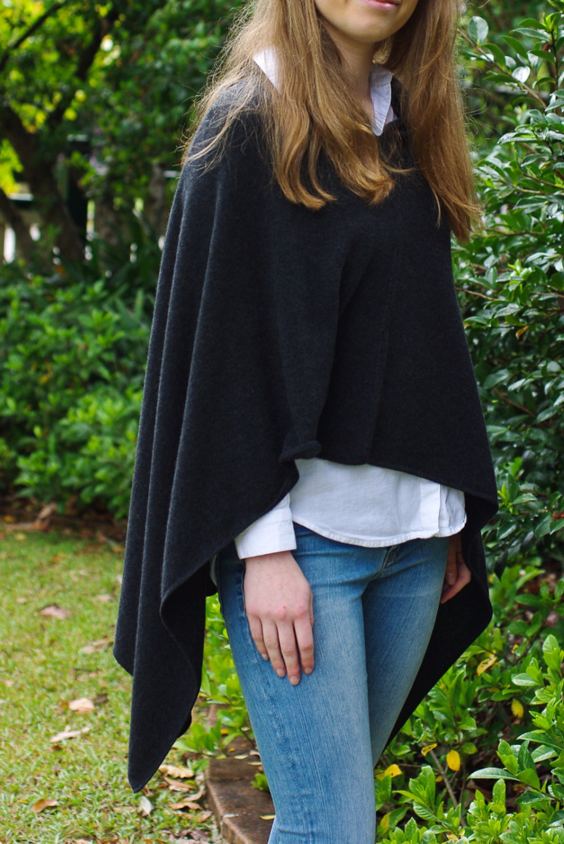 SCA 2-Ply Poncho - Charcoal