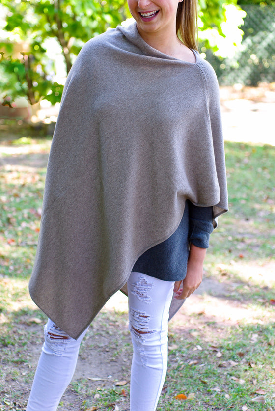 SCA 2-Ply Poncho - Otter
