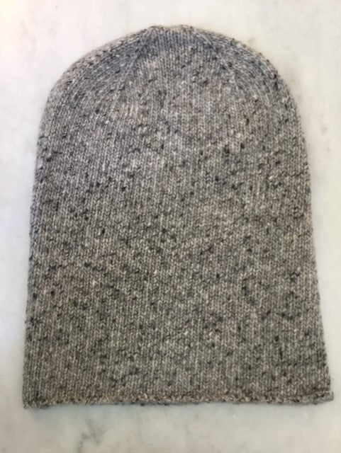 6-ply Beanie | Donegal Grey